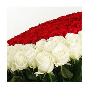Композиция «Счастливая любовь»  из 101 розы